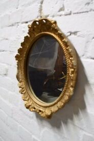 Decorative Gilt Wall Mirror (DELIVERY AVAILABLE)