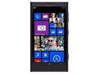 Nokia Lumia 1020, 42mp camera, EE, black.