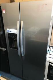 KENWOOD KSBSDIX16 American-Style Fridge Freezer - Stainless Steel. £549.99