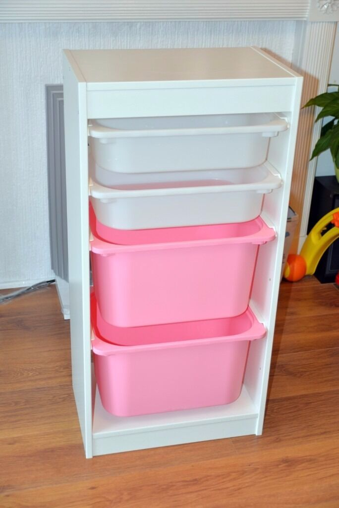Ikea Pink Storage Unit