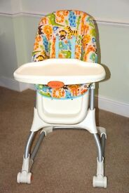 Fisher-price easy-clean highchair
