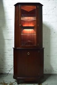 Stag Minstrel Corner Cabinet (DELIVERY AVAILABLE)