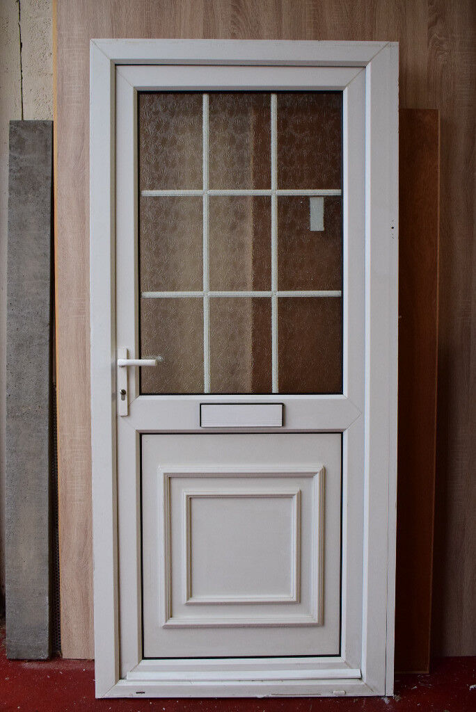 Used upvc front door and frame | in Birstall, Leicestershire | Gumtree