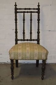 American ebonised side chair (DELIVERY AVAILABLE)