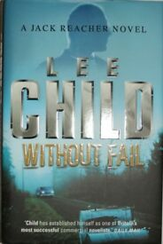 "9 Lee Child ""Jack Reacher"" Novels in excellent condition (5 hard back, 3 paper back)"