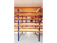 New Longspan Shelving - For Warehouse, Office, Storeroom, Workshop & Garage