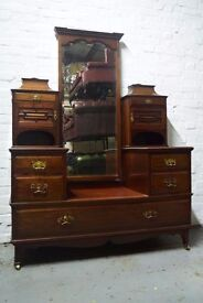 Antique mahogany dresser (DELIVERY AVAILABLE)