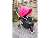 Bugaboo Bee Plus, Feb 2014 edition (newest), short strap, 2 button fold, excellent condition