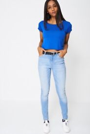 Wholesale job lot woman's clothing jeans