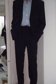 Jaeger Navy Blue Wool Mens suit - great condition