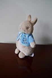 World Of Beatrix Potter Peter Rabbit Soft Toy Rattle