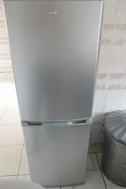 Fridge Freezer LOGIK LFC50S16 Silver as new still in wrappers never used
