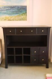 Lovely solid wood side board / cupboard, reduced for quick sale