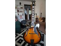 Peerless Monarch Archtop Jazz Guitar + Peerless Hardcase - Brand New