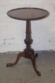 Mahogany wine table (DELIVERY AVAILABLE)