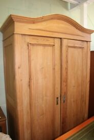 Antique wardrobe.