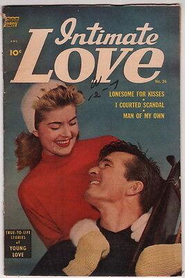 Dick Giordano Collection Personal Copy Intimate Love #26 1954 Romance Comic
