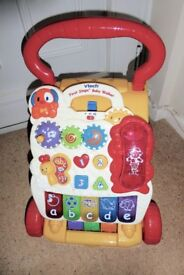 vtech First Steps Baby Walker with Batteries and Telephone, Fully Working, Histon