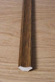 Dark Oak Scotia x 7 Lengths 2.4m long