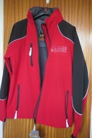 Official Ferrari Softshell Jacket. New. Red/black