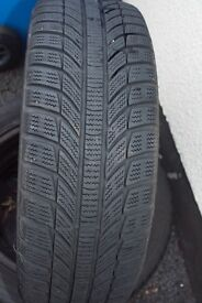 Winter Tyres on Steel Rims to Suit VW Polo