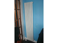 Designer vertical, central heating, tube raditor. 350mm * 1600mm. Brand new. £100