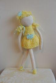 Yellow angel doll (Handmade) (NEW)