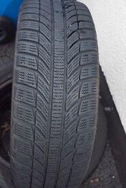 Winter Tyres (on steel rims)