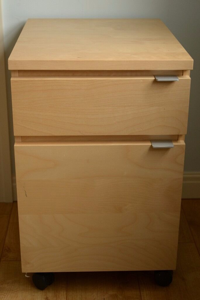 ikea malm jonas drawer unit on castors birch veneer in lowton cheshire gumtree. Black Bedroom Furniture Sets. Home Design Ideas