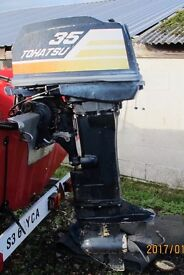 35 HP TOHATSU OUTBOARD ENGINE SPARES AND REPAIRS