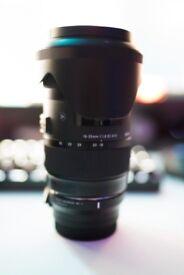 Sigma 18-35mm f1.8 Art Series (Canon Mount) w/ Sigma MC-11 Sony E-Mount Adapter!