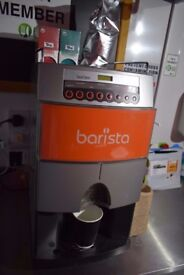 Catering trailer or coffee VAN BARISTA Bean to Cup Coffee Machine