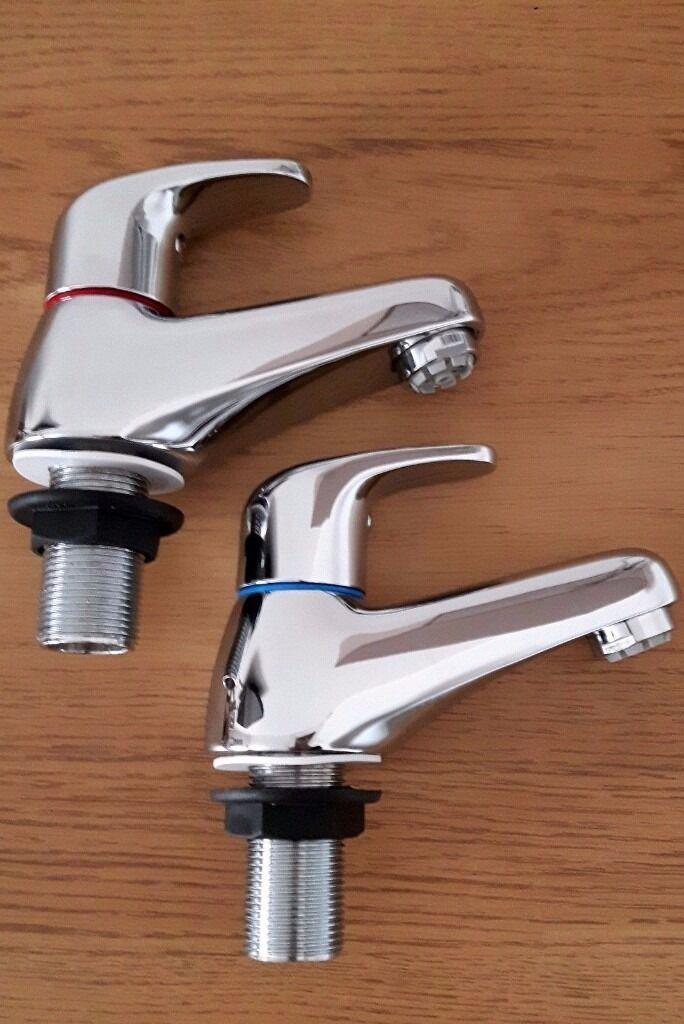 NEW* Tre Mercati Modena pair of basin taps 95020