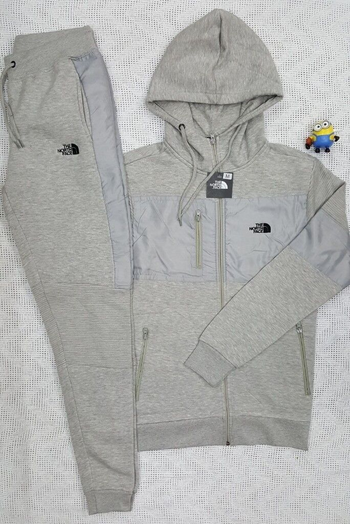 a0a03a17 Mens grey north face tracksuit | in Bedlington, Northumberland | Gumtree