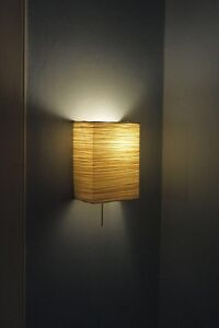 IKEA ORGEL - light fixture - Wall Sconce PAPER lamp shade