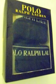 Mens Ralph Lauren Polo Boxers. Black. Box of Two – Size XXL