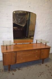 Mid - Century Dressing Table (DELIVERY AVAILABLE)