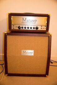 Matamp GT1 and 4X12 Speaker Cab inc. soft covers