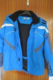 Boys Ski Jacket - Blue. Age 13/14. Excellent condition