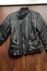Sportex motorcycle leather jacket 42