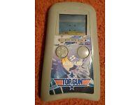 Konami Top Gun handheld game. Retro 1980s LCD