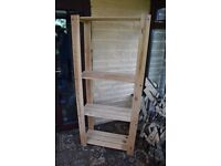 Set of Tall Wooden Shelves - Excellent Condition (Multiple Available)