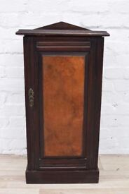 Mahogany and Walnut Bedside Cabinet (DELIVERY AVAILABLE)