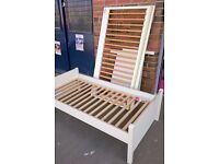 Mamas & Papas Cotbed in Ivory & Pine