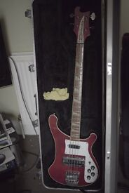 Rickenbacker 4001 bass 1976 ALL ORGINAL comes with official Rickenbacker hard case