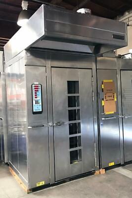 Hobart Ho210g1 Single Rotating Rack Gas Digital Control B Lift Bakery Oven