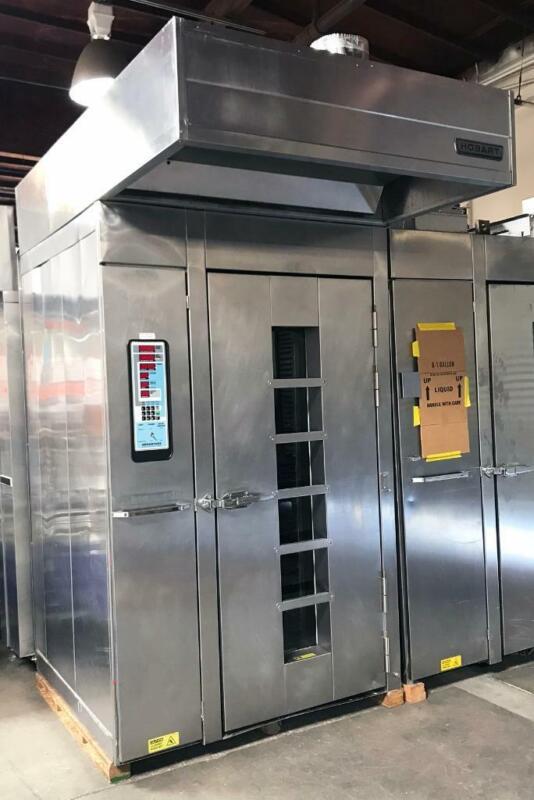 "Hobart HO210G1 Single Rotating Rack Gas Digital Control ""B"" Lift Bakery Oven"