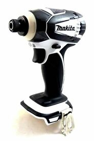 "Makita XDT04Z W 1/4"" White Hex Impact Drill Driver LXT Li-Ion 18V Volt NEW 2017 Limited Edition"