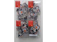 10 Penguin Character LED Lights x 4 Packs - JOBLOT