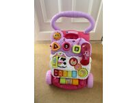 vtech Baby Walker, Excellent Condition, Hardly Used and with Telephone & Batteries, Histon